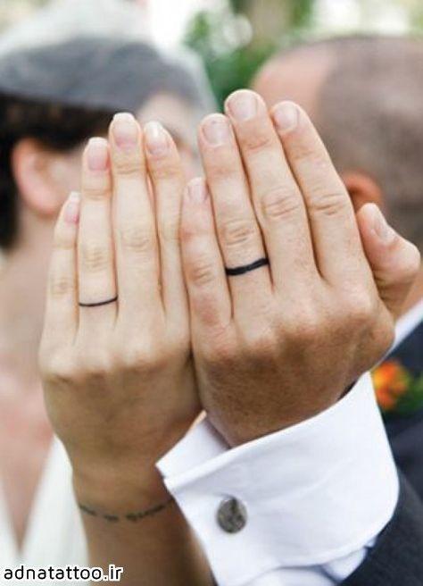 تتو ست حلقه عروس داماد خاص