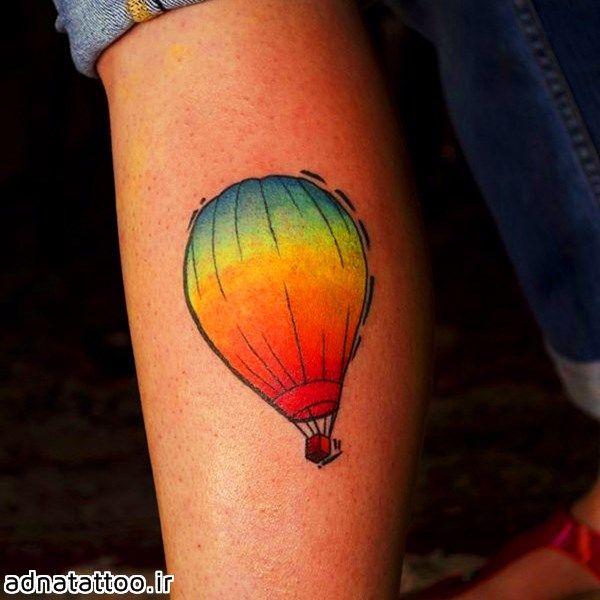 تاتو بالن رنگی baloon