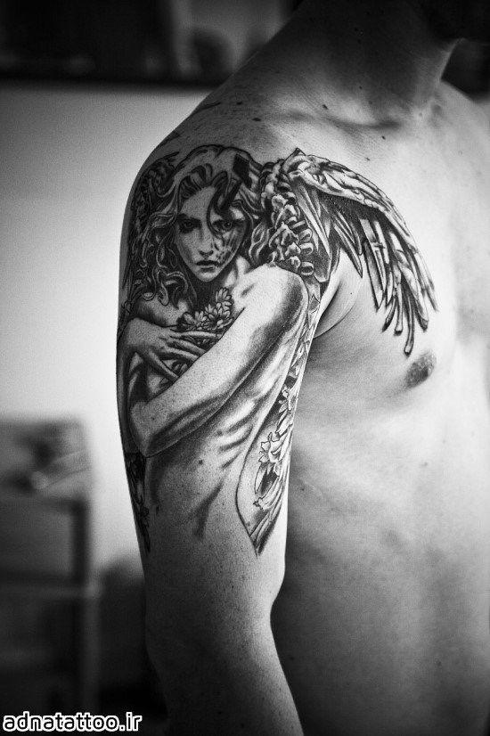 تاتو فرشته